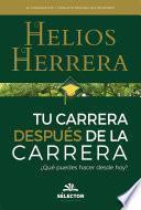 libro Tu Carrera Después De La Carrera