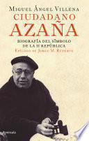 libro Ciudadano Azaña