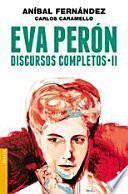 libro Eva Perón. Discursos Completos Ii