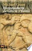 libro Historiadores De Grecia Y Roma
