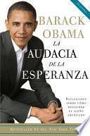 libro La Audacia De La Esperanza