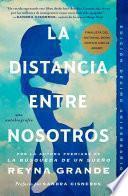libro La Distancia Entre Nosotros