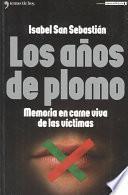 libro Los Años De Plomo