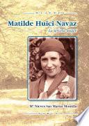 libro Matilde Huici Navaz