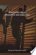 libro Memorias De Un Migrante Michoacano