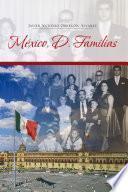 libro México, D. Familias