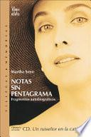 libro Notas Sin Pentagrama / Notes Without A Stave