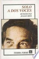 libro Solo A Dos Voces
