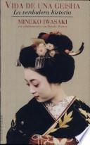 libro Vida De Una Geisha
