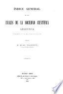 Anales De La Sociedad Cientâifica Argentina