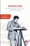 libro Einstein 1905: Un Año Milagroso