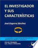 libro El Investigador Y Sus Características