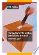 libro Comportamiento Político Y Sociología Electoral