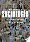 libro Conceptos Esenciales De Sociología