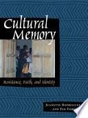 libro Cultural Memory