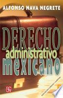 libro Derecho Adminstrativo Mexicano