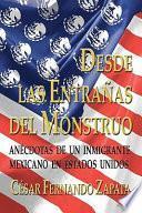 libro Desde Las Entrañas Del Monstruo