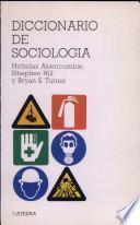 libro Diccionario De Sociología