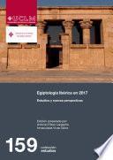 libro Egiptología Ibérica En 2017. Estudios Y Nuevas Perspectivas