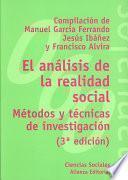 libro El Análisis De La Realidad Social