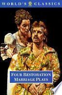 libro Four Restoration Marriage Plays