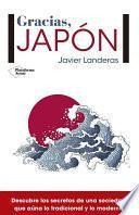 libro Gracias, Japón