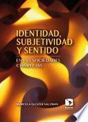 libro Identidad, Subjetividad Y Sentido En Las Sociedades Complejas