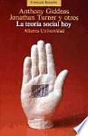 libro La Teoría Social, Hoy