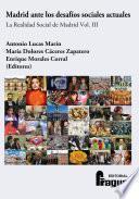 libro Madrid Ante Los Desafíos Sociales Actuales