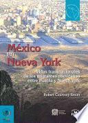 libro México En Nueva York