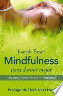 libro Mindfulness Para Dormir Mejor
