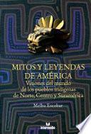 libro Mitos Y Leyendas De América