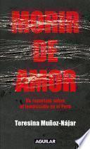 libro Morir De Amor