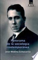 libro Panorama De La Sociología Contemporánea