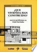 libro ¿qué Vivienda Han Construido?