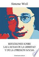 libro Reflexiones Sobre Las Causas De La Libertad Y De La Opresión Social