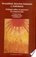 libro Sexualidad, Derechos Humanos Y Ciudadanía