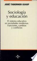 libro Sociología Y Educación