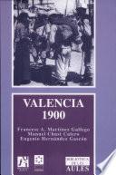 libro Valencia, 1900