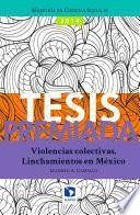 libro Violencias Colectivas