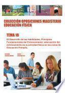 libro Colección Oposiciones Magisterio Educación Física. Tema 18