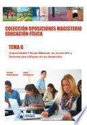 libro Colección Oposiciones Magisterio Educación Física. Tema 6