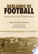 libro Hablando De Football