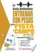 libro La Guía Definitiva   Entrenar Con Pesas Para Pista Y Campo