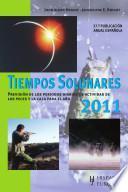 libro Tiempos Solunares 2011 / Solunares Times 2011