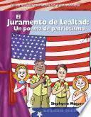 libro El Juramento De Lealtad: Un Poema De Patriotismo (the Pledge Of Allegiance )