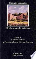 libro El Labrador De Más Aire