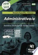 libro Administrativo/a Del Sas. Temario Específico. Volumen 1