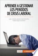 libro Aprende A Gestionar Los Periodos De Crisis Laboral