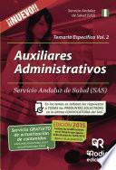 libro Auxiliares Administrativos Del Sas. Temario Específico. Volumen 2